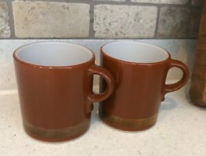 Pyrex Hearth Group Federal Eagle mugs cups (2)