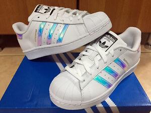 Adidas Superstar White Hologram Iridescent