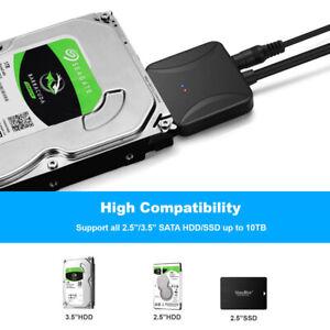 Schwarz-USB-3-0-zu-2-5in-SATA-III-Festplattenadapter-Kabel-SATA-zu-USB-Konverter