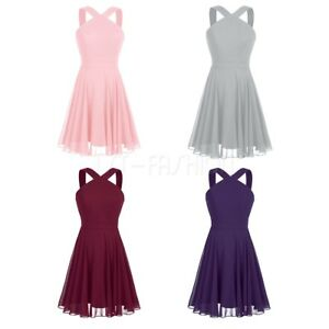 Womens-Short-Prom-Dress-Cocktail-Party-Formal-Gown-Evening-Bridesmaid-Wedding