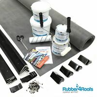 Epdm Rubber Roof Kit For Garden Rooms All Sizes Available - 50 Year Life