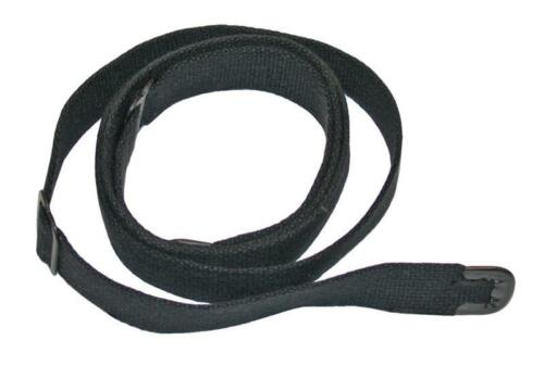 Black Canvas Rifle Sling for 1 Inch Swivels