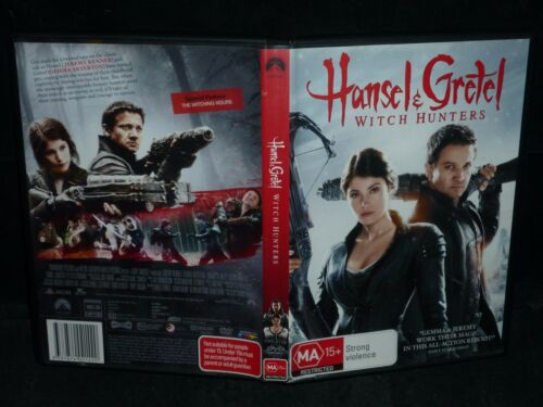 1 of 1 - HANSEL & GRETEL WITCH HUNTERS (DVD, MA 15+)