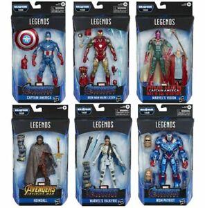Marvel-Legends-Avengers-Endgame-Wave-Set-of-6-Action-Figures-Thor-BAF-IN-STOCK