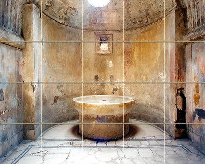 21.25 x 34 Art Edward Hughes Fantasy Mural Ceramic Bath Backsplash Tile #491