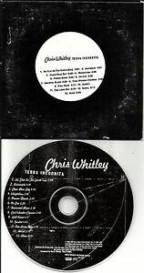CHRIS-WHITLEY-Terra-Incognita-ULTRA-RARE-ADVNCE-PROMO-DJ-CD-1997-Carded-Sleeve