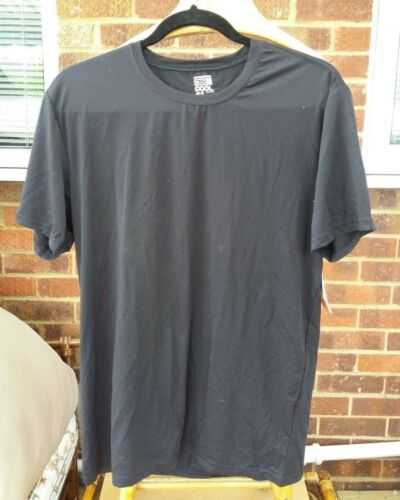 Weatherproof 32 Deg Cool Mens TShirt Quick Dry SportsTop Black