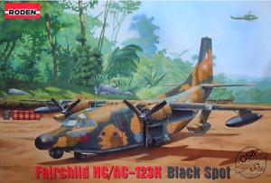 Roden-058-Fairchild-N-ac-123k-Provider-Amerikan-1-72-Scale-Model-Kit-465-mm