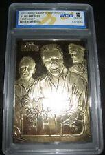 Elvis Presley Gold Card Autographed Singer Film Star Actor Mega Legend Army USA