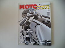MOTO STORICHE E D'EPOCA 7/1998 LAMBRETTA 48/GUZZI AIRONE/MAS 175/OSSA 250 CROSS