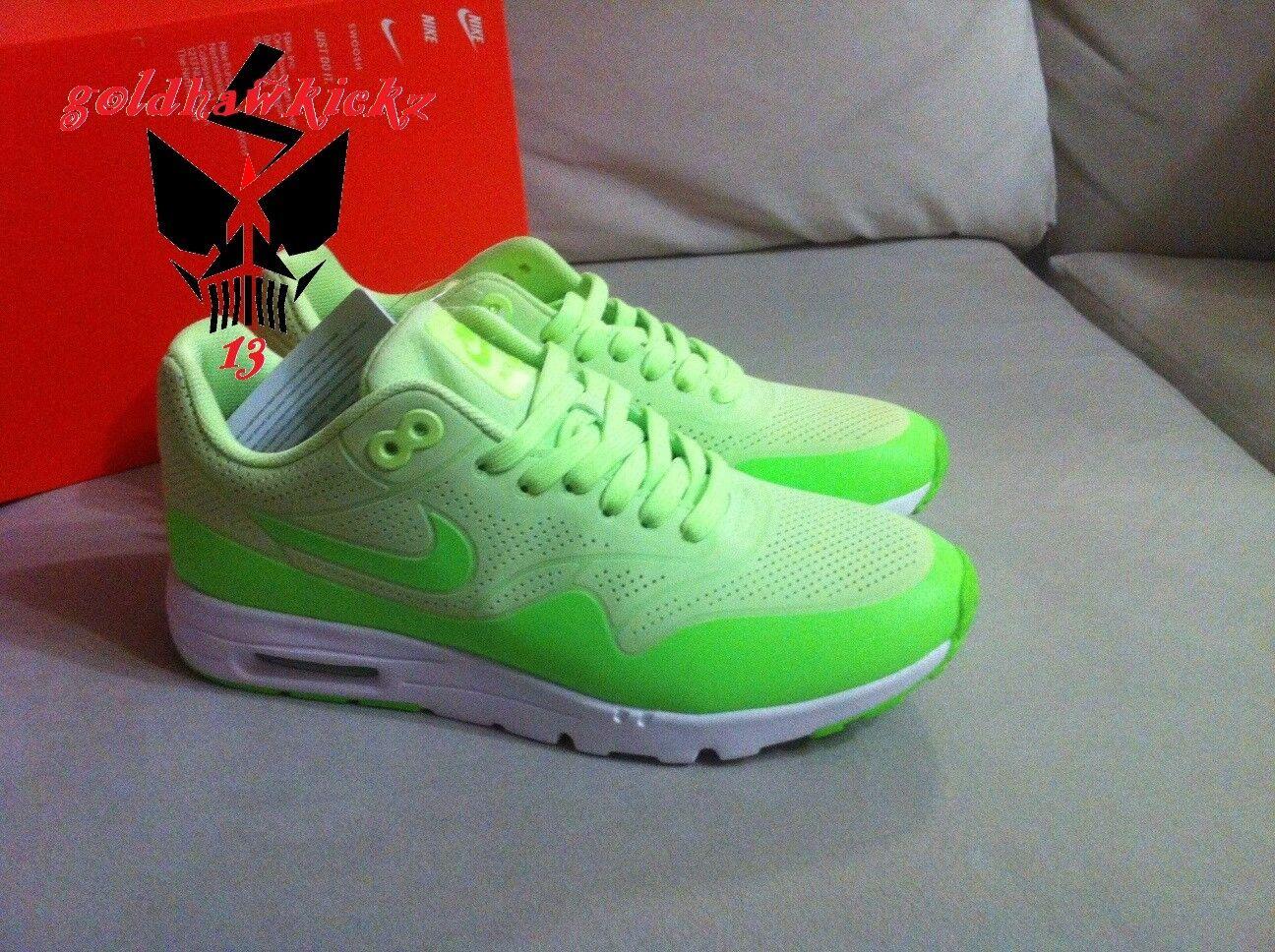 Nike air max 1 ultra verde  704995 302 3M jedi fantasma verde volt run  marchio in liquidazione