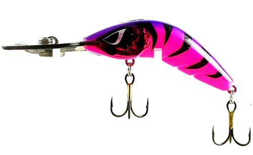 CAST OR TROLL DEEP DIVER FISHING LURE PREDATEK BOOMERANG,PURPLE THING 65-D-10g