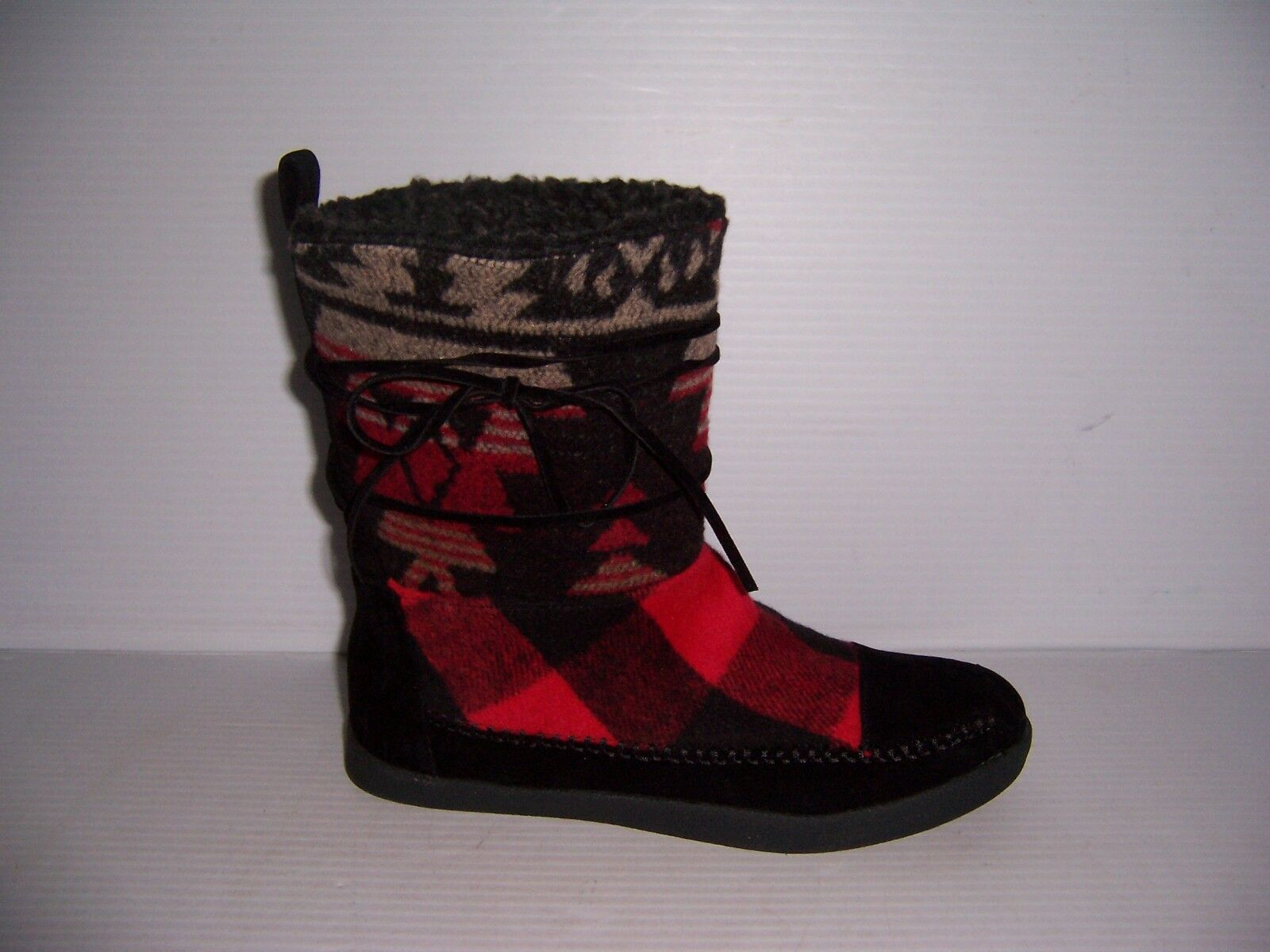 Madden Girl Jackmen Women's Red Short Comfy Fashion Boots Various Sizes NEW