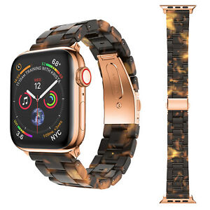 Tortoise-shell-Lines-Watch-Band-Strap-for-Apple-Watch-Series-4-3-2-1-38mm-amp-40mm