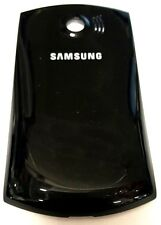 Samsung B6520 Omnia 652 BlackCell Phone Back Cover Rear Door Replacement