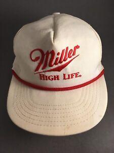 7cc3070b1 Details about Miller high life hat