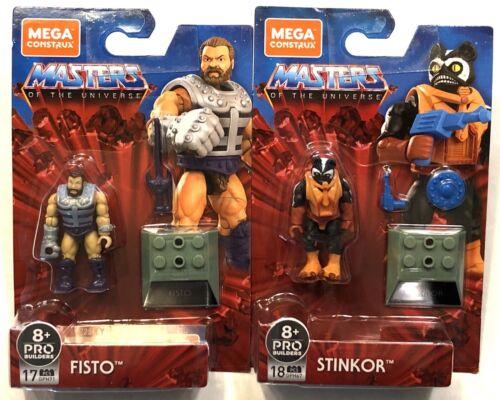 Mega Construx Masters Of The Universe FISTO   /& STINKOR new