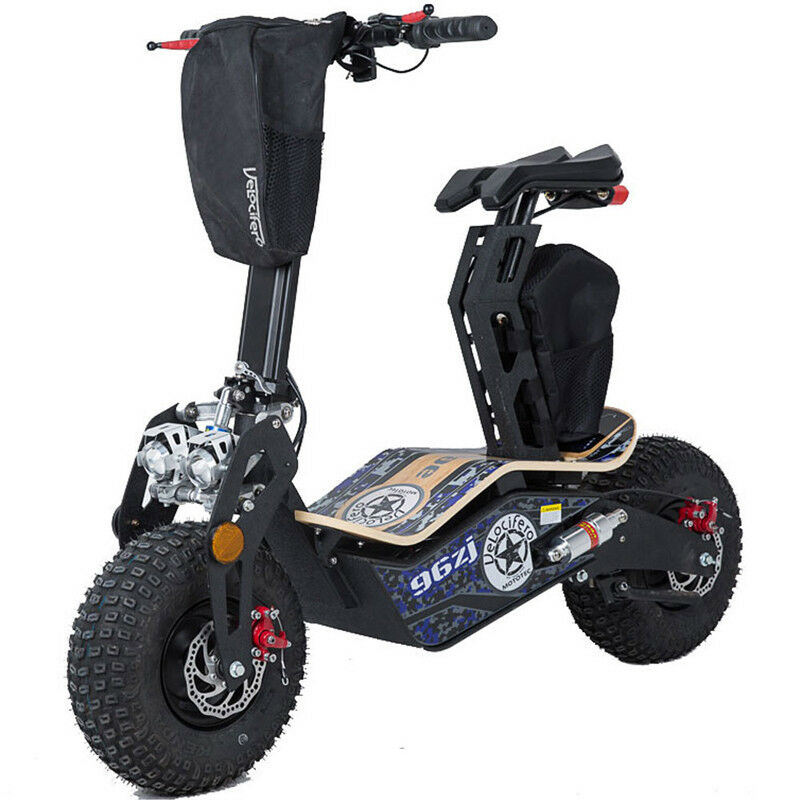 Mototec Mad 1600w Elektrisch Scooter - 48v - Knobby Tires - Disk Brake, New