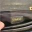 thumbnail 7 - Bebe Black Crossbody Purse Gold Hardware Handbag