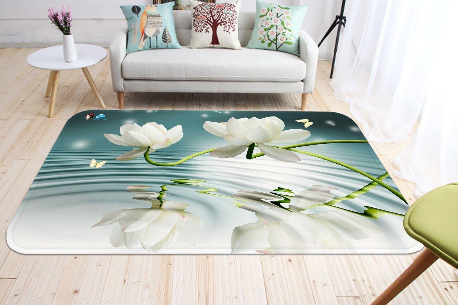 3d onde acqua 688 antiscivolo tappeto tappetino bagagliaio tappeto elegante de Carly