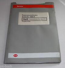 Werkstatthandbuch Audi A4 / A 4 / B5 Getriebe Automatisches Getriebe 01N ab 1995