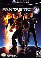 Nintendo Gamecube Game - Fantastic 4 Sealed