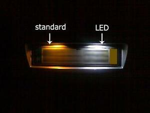 FOR LED License Number Plate Light Bulbs NO Error Canbus White T10 W5W 501 Bulbs