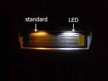 VAUXHALL ASTRA MK4 MK5 LED NUMBER PLATE BULBS LIGHTS