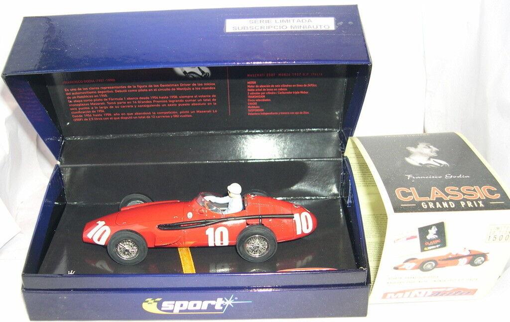Superslot H2681A Maserati 250 F 1957   10 F.Godia Susc.miniauto Limit.ed MB  vendita calda online