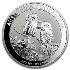 2013 10 oz Silver Australian Kookaburra - Brilliant Uncirculated - SKU #71386