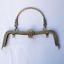 20 cm Metal Purse Frame Handle Clutch Bag Kiss Clasp Lock Hardware Accessory DIY