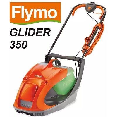 Flymo Glider 350 hover lawn mower Metal Blade 35cm Cut 1500w BARGAIN