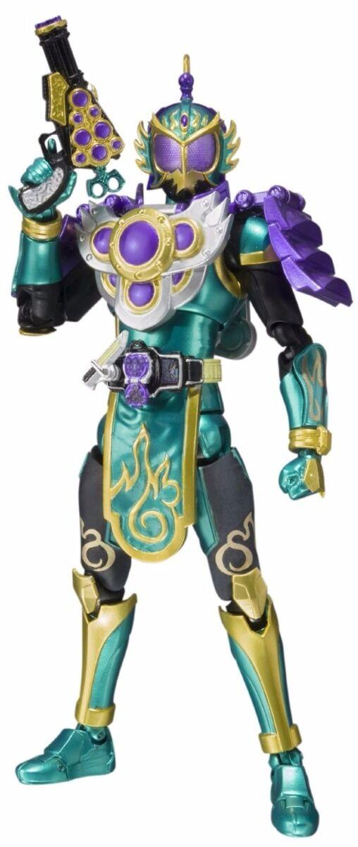 S.H.Figurines Masqué Kamen Rider Gaim Ryugen Budou Bras Figurine Articulée