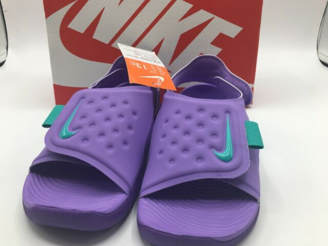Nike Sunray Adjust 5 Purple Kids Girls