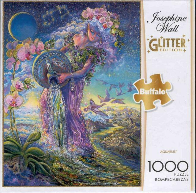 Josephine Wall 1000Pc Glitter Edition Jigsaw Puzzle Aquarius NIB