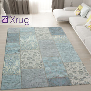 Duck Egg Blue Rug Modern Design