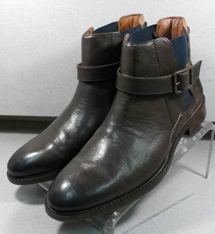 271210 pfbt 40 Para hombre Zapatos 9 M Marrón Cuero 1850 serie botas Johnston Murphy
