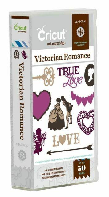 Sealed Cricut Victorian Romance Cartridge Brand New