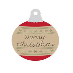 60 personalized merry christmas ornament return address labels ebay