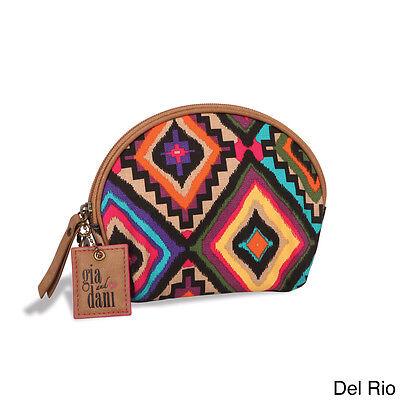 GIGI HILL GIA AND DANI SMALL MAKEUP COSMETICS BAG COIN PURSE AZTEC DEL RIO NWT   eBay