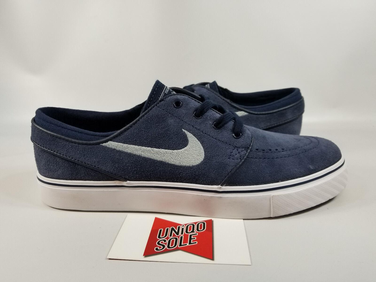 Nike Zoom Stefan Janoski Sb Obsidiana Azul Suede Blanco Calzado 633014-400 7.5 Calzado Blanco para Skate b79994