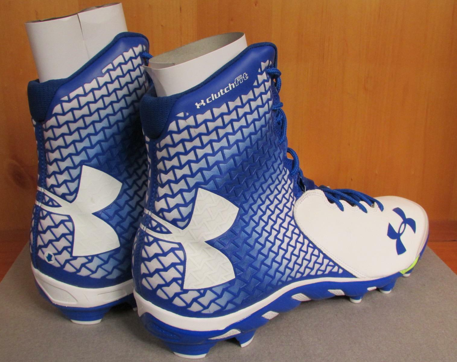 New! Under Armour Brawler Football Shoes Shoes Football Cleats Spine Sz.16 Power clamp Ankle c32e51