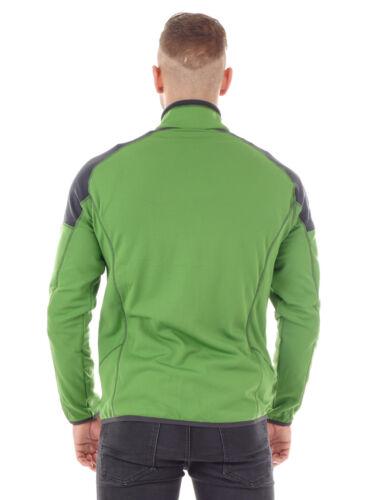 CMP Pinewood chaqueta Man Jacket verde transpirable elástico ahumado