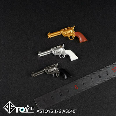 In-stock 1//6 Scale ASTOYS AS040 Colt P18520 Cowboy Revolver Weapon