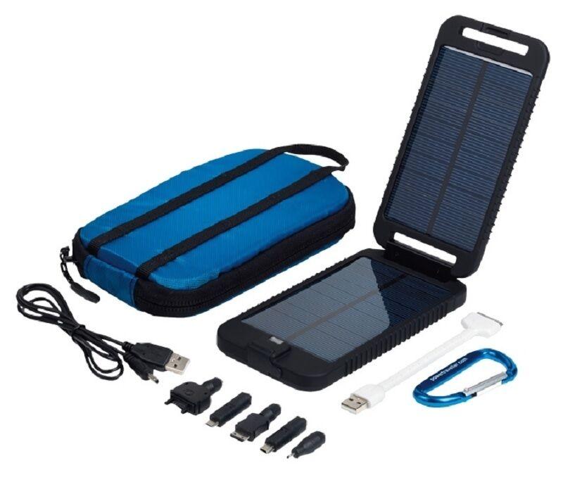 Powervoyageler Solarmonkey Aventurier Tactical Chargeur Solaire Panneau de plein air