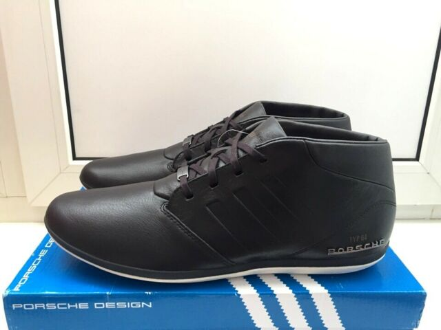 Adidas Porsche Typ 64 Mid Winter Sneakers Men Boots Shoes BY2115 brown