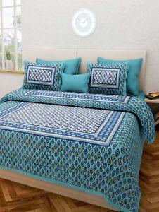 Image Is Loading Handmade Indian Rajasthani Hand Block Work Pure Cotton