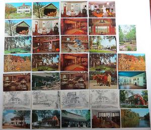 65 Unused Massachussetts Postcards Sturbridge Gloucester Salem Cape Cod Rockport