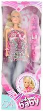 Steffi Love Welcome Baby Pregnant Doll Girls Dolls 13 accessories NEW & FAST