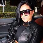 Large Retro VINTAGE Square Huge Aviator Big Flat Top Oversized Lauren Sunglasses